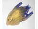 Part No: 24162pb03  Name: Bionicle Creature Head/Mask with Marbled Trans-Purple Pattern