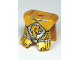 Part No: 2587pb25  Name: Minifigure, Armor Breastplate with Leg Protection, Kingdoms Lion Head and Belt Pattern