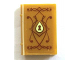 Part No: 33009pb050  Name: Minifigure, Utensil Book 2 x 3 with Elves Diary with Lock Pattern (Sticker) - Set 41072