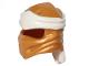 Part No: 40925pb13  Name: Minifigure, Headgear Ninjago Wrap Type 4 with White Headband Pattern