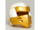 Part No: 66953pb06  Name: Minifigure, Headgear Ninjago Wrap Type 7 with 4 Slits on Front and White Fabric Pattern