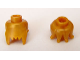 Part No: 90322  Name: Minifigure, Head Modified Jagged Bottom Edge Plain