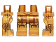 Part No: 970c00pb0448  Name: Hips and Legs with SW C-3PO Droid Pattern with Leg Side Printing