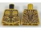 Part No: 973pb2853  Name: Torso Atlantean Armor with Metallic Gold Plates Pattern