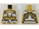 Part No: 973pb3261  Name: Torso Ninjago Armor White and Gold with White Sash Pattern