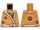 Part No: 973pb3839  Name: Torso Ninjago Robe with White Sash Pattern