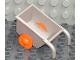 Part No: 2292c03  Name: Duplo Wheelbarrow with Orange Wheels