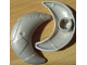 Part No: 44523  Name: Duplo Crescent Moon Metal Design (Little Robots)