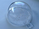 Part No: 12708pb01  Name: Cylinder Hemisphere Bauble Half with White Dots Pattern