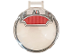Part No: 18675pb16  Name: Dish 6 x 6 Inverted - No Studs with Handle with Wires and Red Panel Pattern