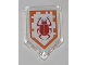 Part No: 22385pb007  Name: Tile, Modified 2 x 3 Pentagonal with Nexo Power Shield Pattern - Beetle Bomb