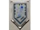 Part No: 22385pb079  Name: Tile, Modified 2 x 3 Pentagonal with Nexo Power Shield Pattern - Pinball Magician