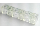 Part No: 3009f3  Name: Brick 1 x 6 Transparent with Frosted Vertical Lines