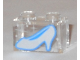 Part No: 3065pb04  Name: Brick 1 x 2 without Bottom Tube with Silver Shoe Cinderella Glass Slipper Pattern