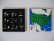 Part No: 3762pb01  Name: Glass for Window 1 x 6 x 5 with Blackboard / US Map Pattern (Stickers) - Set 5235-2