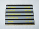 Part No: 3855pb006  Name: Glass for Window 1 x 4 x 3 with Train Schedule Pattern on Both Sides (Stickers) - Sets 4554 / 4558