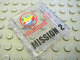 Part No: 4215bpb41  Name: Panel 1 x 4 x 3 - Hollow Studs with 'MISSION 2' Pattern (Sticker) - Set 7047