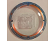 Part No: 44375bpb10  Name: Dish 6 x 6 Inverted (Radar) - Solid Studs with Cracked Glass Gyrosphere Pattern