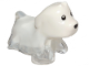 Part No: 52672pb01  Name: Dog, Ghost with Marbled White Pattern (Spencer)