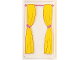 Part No: 57895pb051  Name: Glass for Window 1 x 4 x 6 with Pink Curtain Rod and Yellow Curtains with Pink Ties Pattern