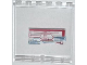 Part No: 59349pb068  Name: Panel 1 x 6 x 5 with Red Helicopter and Missile on Screen Pattern (Sticker) - Set 76007