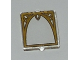 Part No: 60601pb013  Name: Glass for Window 1 x 2 x 2 with Ornamented Window Arch Pattern