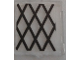 Part No: 60601pb014  Name: Glass for Window 1 x 2 x 2 with Black Lattice Pattern (Sticker) - Set 70810