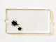 Part No: 60602pb05  Name: Glass for Window 1 x 2 x 3 with 2 Black Insects Pattern (Sticker) - Set 75904
