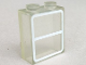 Part No: 772p01  Name: Brick 1 x 2 x 2 without Bottom Tube with Window Pattern