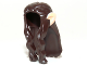 Part No: 13766pb01  Name: Minifigure, Hair Long Wavy with Braid and Light Nougat Elf Ears Pattern
