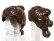 Part No: 21777  Name: Minifigure, Hair Female Ponytail with Tied Sections