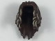 Part No: 34316pb01  Name: Minifigure, Hair Long, Parted in Front with Tan Highlights Pattern