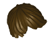 Part No: 87991  Name: Minifigure, Hair Tousled with Side Part