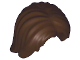 Part No: 88283  Name: Minifigure, Hair Mid-Length Tousled with Center Part