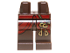 Part No: 970c00pb0208  Name: Hips and Legs with Dark Red Robe and Two Gold Keys Pattern