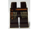 Part No: 970c00pb0275  Name: Hips and Legs with Dark Tan Cloth and Medium Dark Flesh Rope Belt Pattern