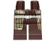 Part No: 970c00pb0409  Name: Hips and Legs with SW Camouflage Coattails Pattern (Han Solo Endor)
