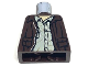Part No: 973pb0131  Name: Torso Indiana Jones Leather Jacket, Button Down Shirt Pattern