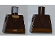 Part No: 973pb0857  Name: Torso SW Layered Shirt, Dark Orange Belt Pattern (Saesee Tiin)