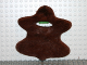 Part No: x1870  Name: Duplo Wear Cloth Bearskin with Neck Opening