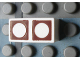 Part No: Mx1021Apb71  Name: Modulex Tile 1 x 2 with Brown Circles Outline Pattern