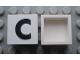 Part No: Mx1022Apb067  Name: Modulex Tile 2 x 2 with Black 'C' Pattern (no internal support)