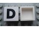 Part No: Mx1022Apb068  Name: Modulex Tile 2 x 2 with Black 'D' Pattern (no internal support)