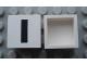 Part No: Mx1022Apb073  Name: Modulex Tile 2 x 2 with Black 'I' Pattern (no internal support)