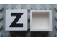Part No: Mx1022Apb089  Name: Modulex Tile 2 x 2 with Black 'Z' Pattern (no internal support)