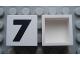 Part No: Mx1022Apb100  Name: Modulex Tile 2 x 2 with Black  '7' Pattern (no internal support)