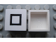 Part No: Mx1022Apb211  Name: Modulex Tile 2 x 2 with Black Square Pattern (no internal supports)