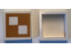 Part No: Mx1022Apb234  Name: Modulex Tile 2 x 2 with Yellow Squares Pattern (no internal support)