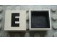 Part No: Mx1022Dpb05  Name: Modulex Tile 2 x 2 with Black 'E' Pattern (Black internal lining no dot)