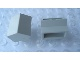Part No: Mx2402B  Name: Modulex Brick, Angle 2L, 27 degree, 1:2 slope